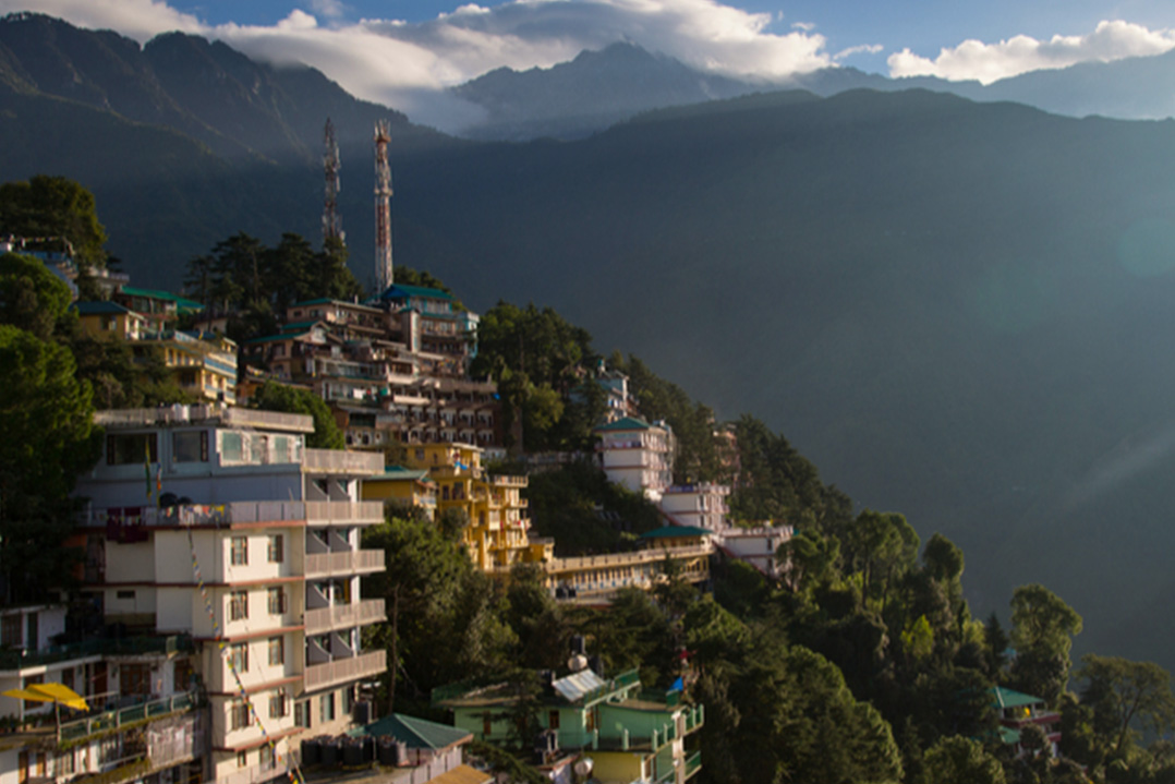 Leaving McLeod Ganj, Dharamshala Norsang Journeys