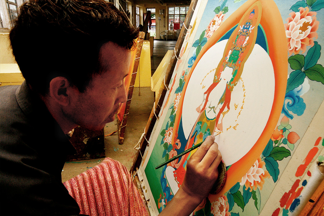 Norsang Journeys Thangka Artist